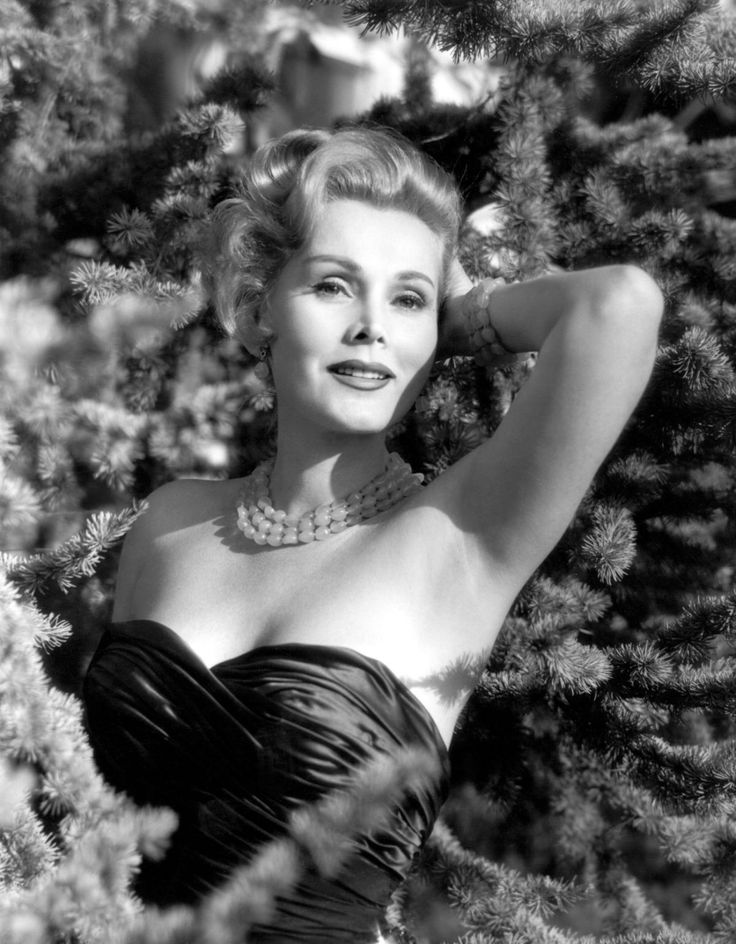 Goodbye Zsa Zsa Gabor! Here Are 30 Beautiful Black and White Photos of the Hollywood Star With Jewish Roots and 9 Hubbies from the 1950s