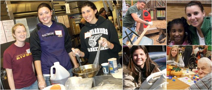 In keeping with Elizabethtown College's Educational Philosophy, the Center for Community and Civic Engagement provides opportunities to strengthen scholarship and leadership beyond the classroom, in order for students to learn actively through practical experiences and civic engagement.