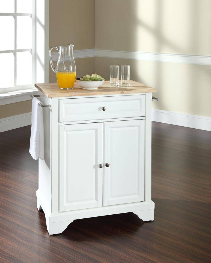 Kitchen Cart With Stainless Steel Top Base Finish Espresso