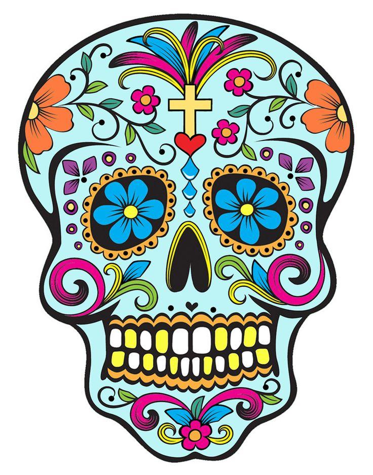 Statement Clutch - Calavera Sugar Skull by VIDA VIDA q2FR9v2