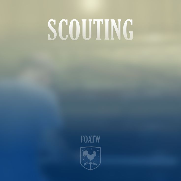 Friend of all the World – Scouting