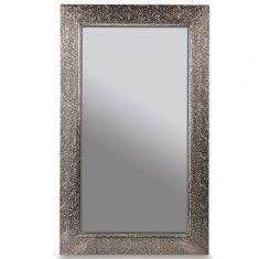 Metal Embossed Mirror Medium | Mirrors