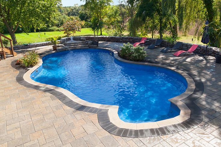 214 best inground pools by pioneer family pools images on - Camella northpoint swimming pool rate ...