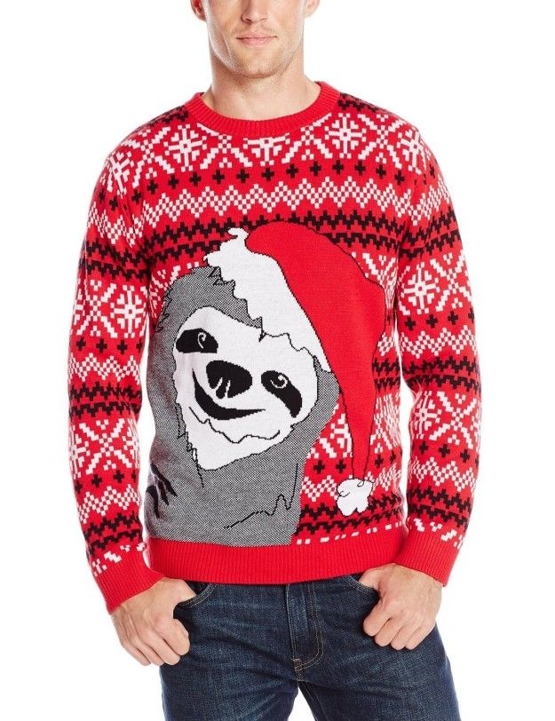 This Santa Sloth sweater for living life to the fullest. | 23 Products From Amazon That'll Make Perfect Gifts