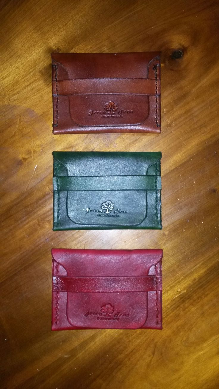 Small Wallet Leather