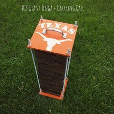 Texas Giant Jenga and carrying Case