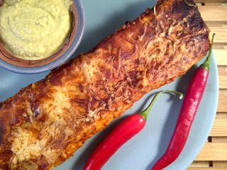 Oesters en Uien : Pittige rundvlees enchilada met guacamole