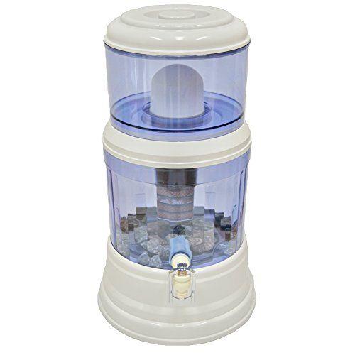 Saqua Countertop Water Filtration Purification System Natural Gravity Water Dispenser 3 Gallons 12l Water Filter Review Countertop Water Filter Water Filter