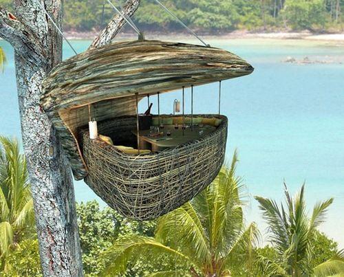 The Dining Pod Restaurant, Soneva Kiri, Thailand: Soneva Letter, Birds Nests, Trees Houses, Sonevakiri, Resorts, Dinners, Thailand, Treehouse, Dining Pods