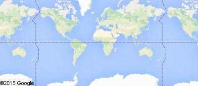 Mapa dos locais onde este usuário viveu