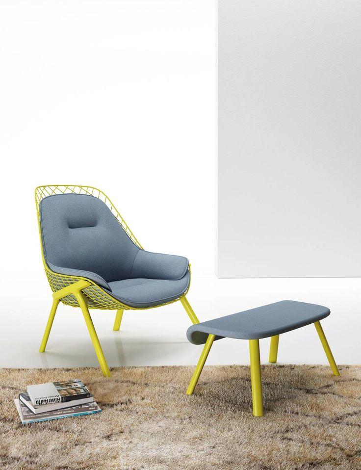 Gran Kobi Lounge Chair, designed by Patrick Norguet for Alias. Get The Originals…