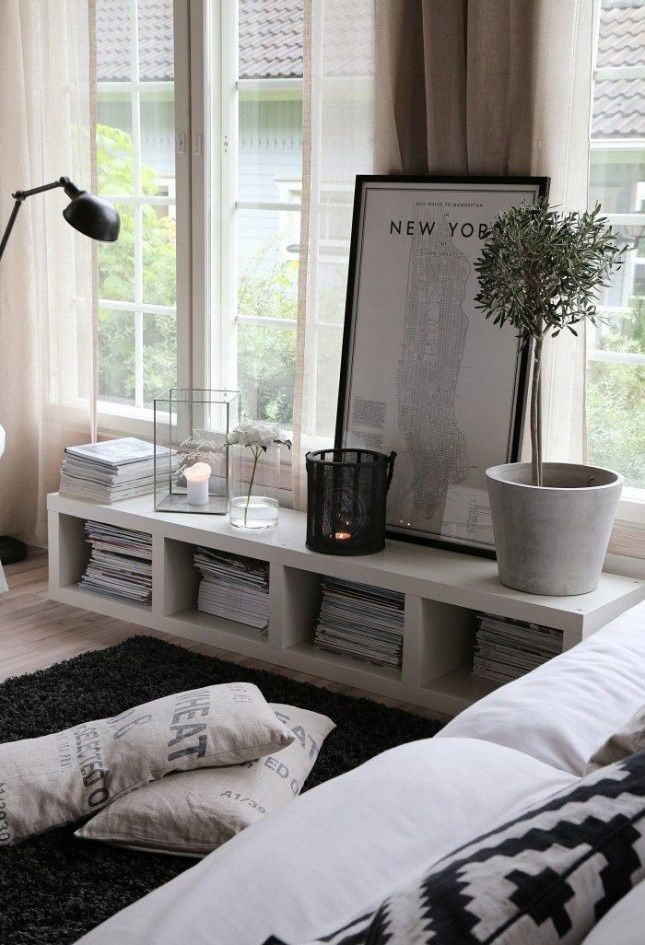 21 Ways to Make Your Living Room Seem Ginormous | Brit + Co