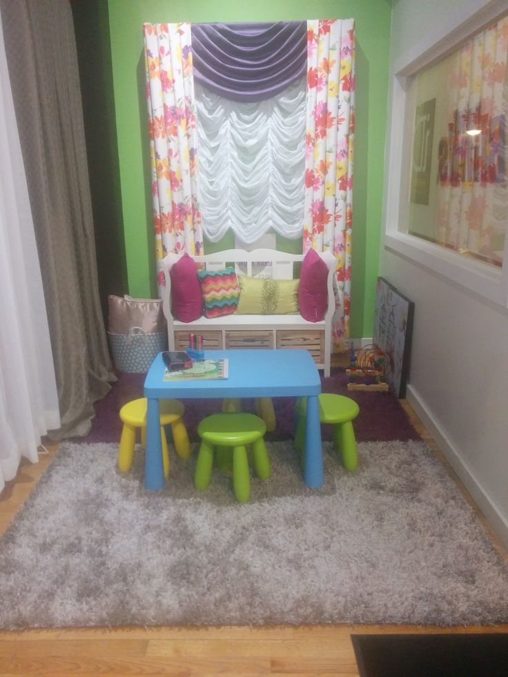We can also help you design a safe and beutiful child play space.  http://www.budgetblinds.com/ReginaSouth/ 306-949-2300 1433 Hamilton St, Regina,  #curtains #drapes #regina #panels #budgetblinds
