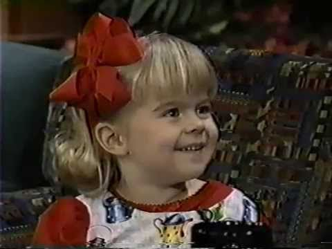 Emily Mae Young interview 1996 Tonight Show.age 6