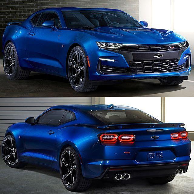 Chevrolet Camaro SS 2019 General Motors Revelou Nesta