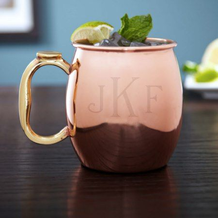 Classic Monogram Moscow Mule Mug, 20 oz - click to get yours right now!