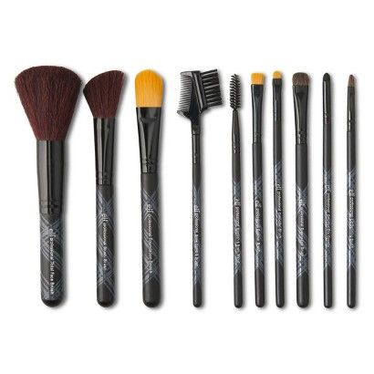 elf brush sets $10 I need new brushes so bad and I love elf!
