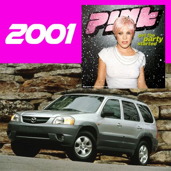 Get this party started with Pink in your 2001 Tribute 4WD! What an awesome family car - it's even big enough to get your party started with all of your friends! #hornsbymazda #mazdaaustralia #tribute #4wd #Pink