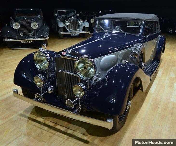 Classic 1938 Alvis 4.3 Litre Drophead Coupé.