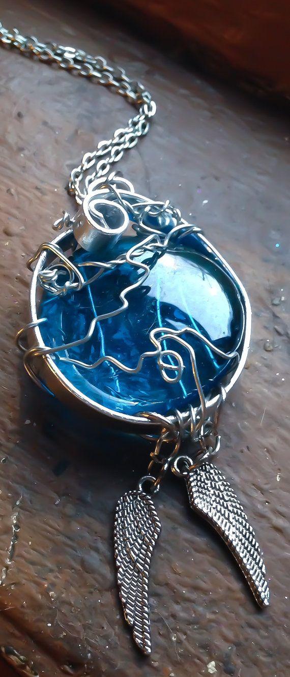 Castiel der Gnade Halskette SPN Supernatural von Eldwenne auf Etsy