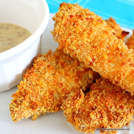 Panko Crust Chicken Tenders My son LOVES these and requests these often