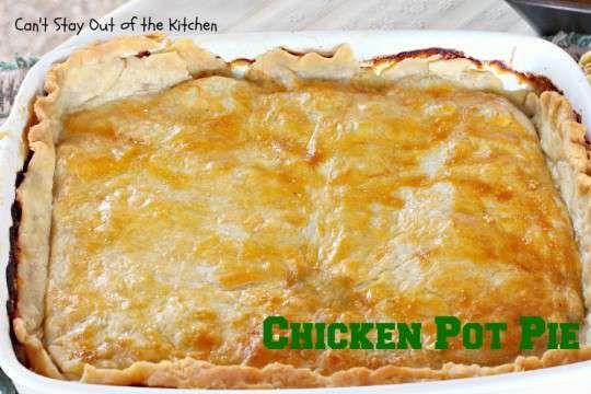 Chicken Pot Pie - IMG_4921