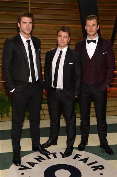 Hemsworth brothers 2014