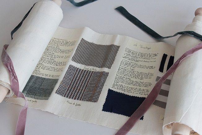 """Comment regarder un vêtement - Les étudiants en management de l'IFM Paris réalisent chaque année un """"dossier textile"""" sur les tissus et les matières."""