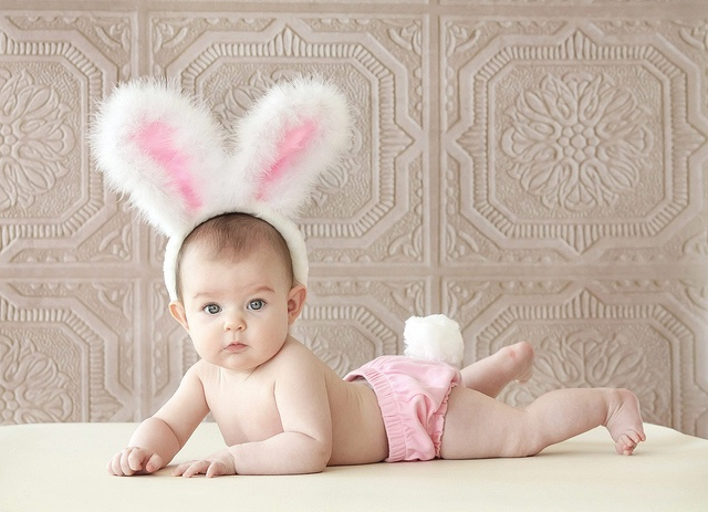 13 baby easter pinterest baby bunny negle Images