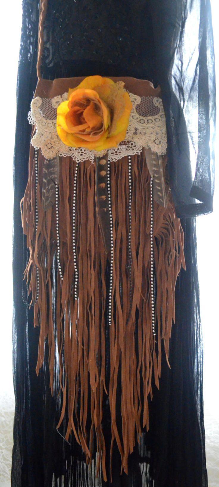 Gypsy purse, Bohemian Hobo bag, Stevie Nicks Concert bag Fringe Coachella purse, Romantic fringe purse, Fringed bag, True rebel clothing