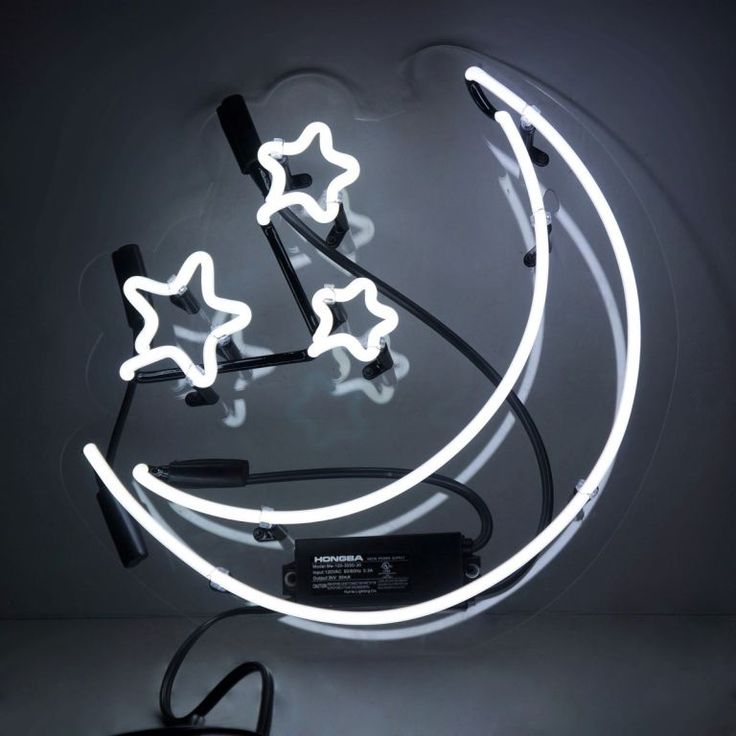 Moon and Stars Neon Sign                                                                                                                                                                                 More