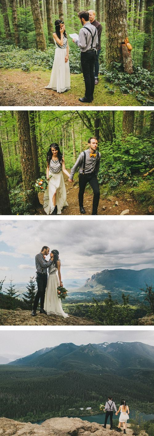 Will never stop loving this elopement shoot. That hike is so beautiful and he captures it so well!!