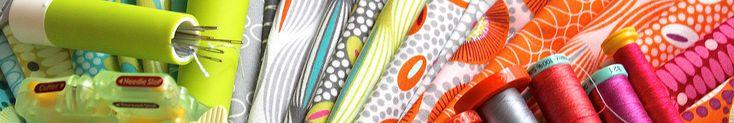 Bei uns findest du moderne, frische Stoffe in tollen Farben. Ob fürs Quilten, Taschen nähen oder individuelle Klamotten - die Druckstoffe sind immer trendy und besonders.
