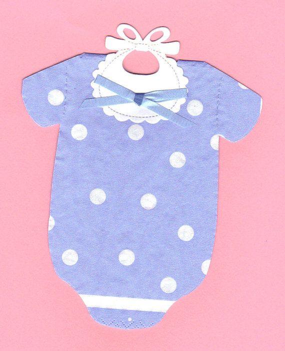 Set of 30 Napkins  Blue Polka Dot Baby STRETCHIE by SuriesBoutique, $15.00