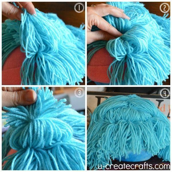 Use to make raggedy ann wig