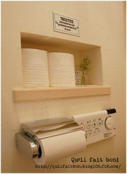 トイレのニッチとその周辺 - キルフェボン!