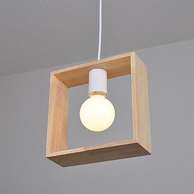 Plafond Lichten & hangers , Hedendaags Landelijk Anderen Kenmerk for LED Hout/bamboeWoonkamer Slaapkamer Eetkamer Keuken 5831062 2017 – €36.93