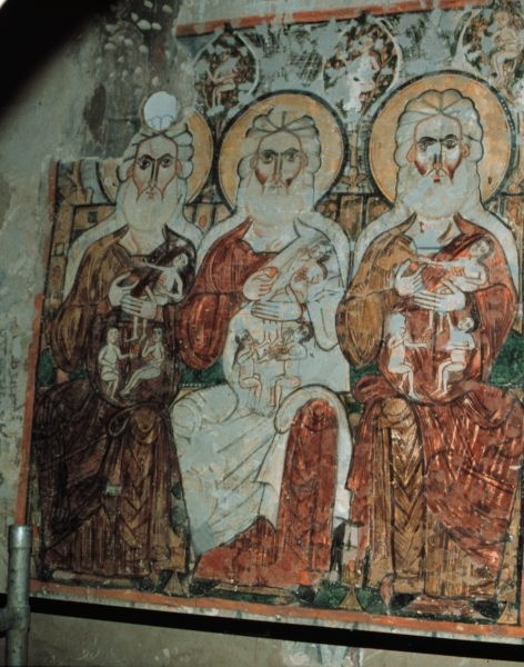 Wall-Paintings in Deir Al-Surian ca. 1000 CE