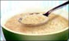 Porridge..soft and gooey..but also warm and  loving inside...