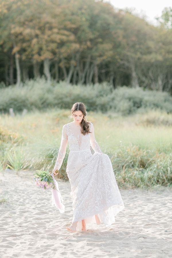 Long sleeve lace wedding dress    #wedding #weddings #weddingideas #aislesociety #fineartweddings