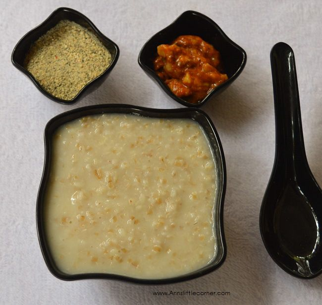Wheat Urad Dal Porridge is a bowl full of health and goodness. A great option to start a healthy day. I have used broken wheat and White Urad dal for this porridge. Garlic Cloves are added which brings in flavour to the porridge. This porridge is very well suited for a diabetic diet.   #Urad Dal #Wheat