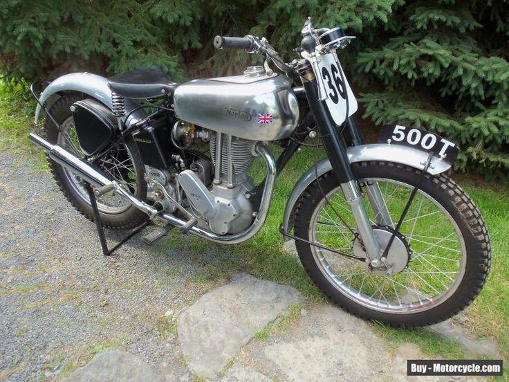 1951 Norton 500T #norton #500t #forsale #canada