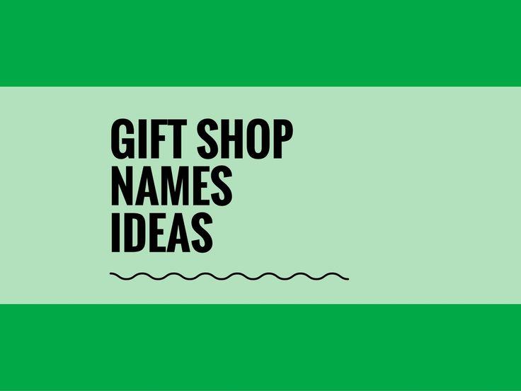 371+ Creative Gift shop Names Ideas - theBrandBoy.com ...