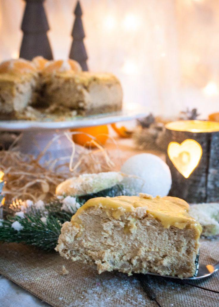 Vanillekipferl-Cheesecake - Ein Häppchen Liebe