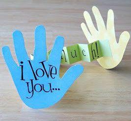 Kreativ med hånd og fotavtrykk. - Idebank for småbarnsforeldreIdebank for småbarnsforeldre
