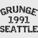 GRUNGE 1991 GRUNGE MUSIC T-SHIRT