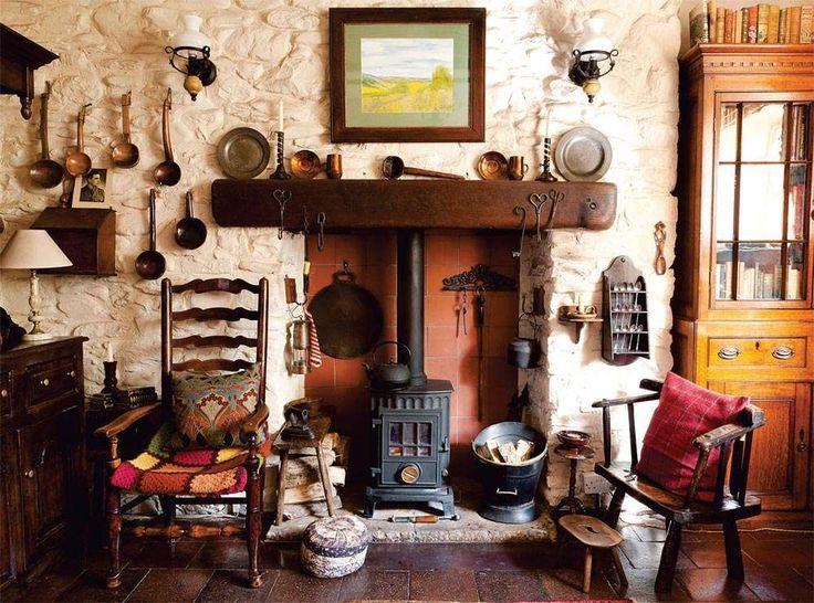 scottish farmhouse interior welsh cottage decor
