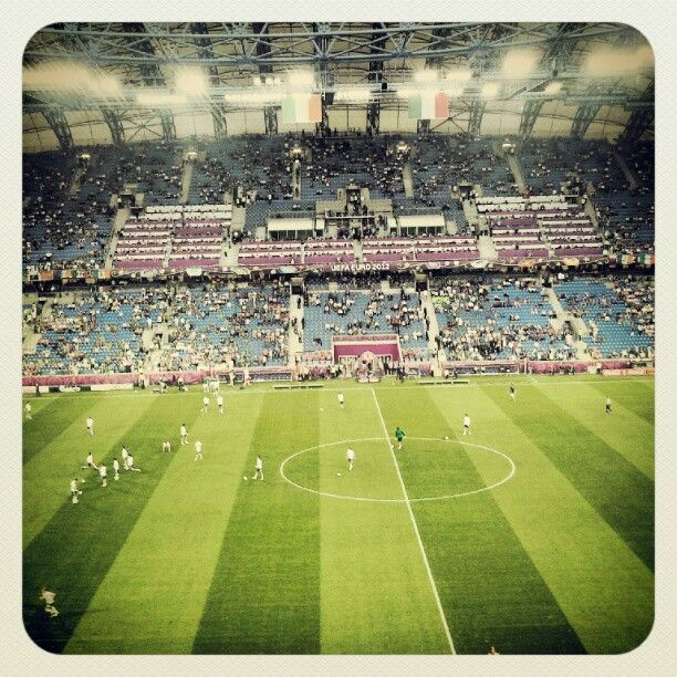 Euro 2012 - Italy-Ireland (Poznan, Poland)
