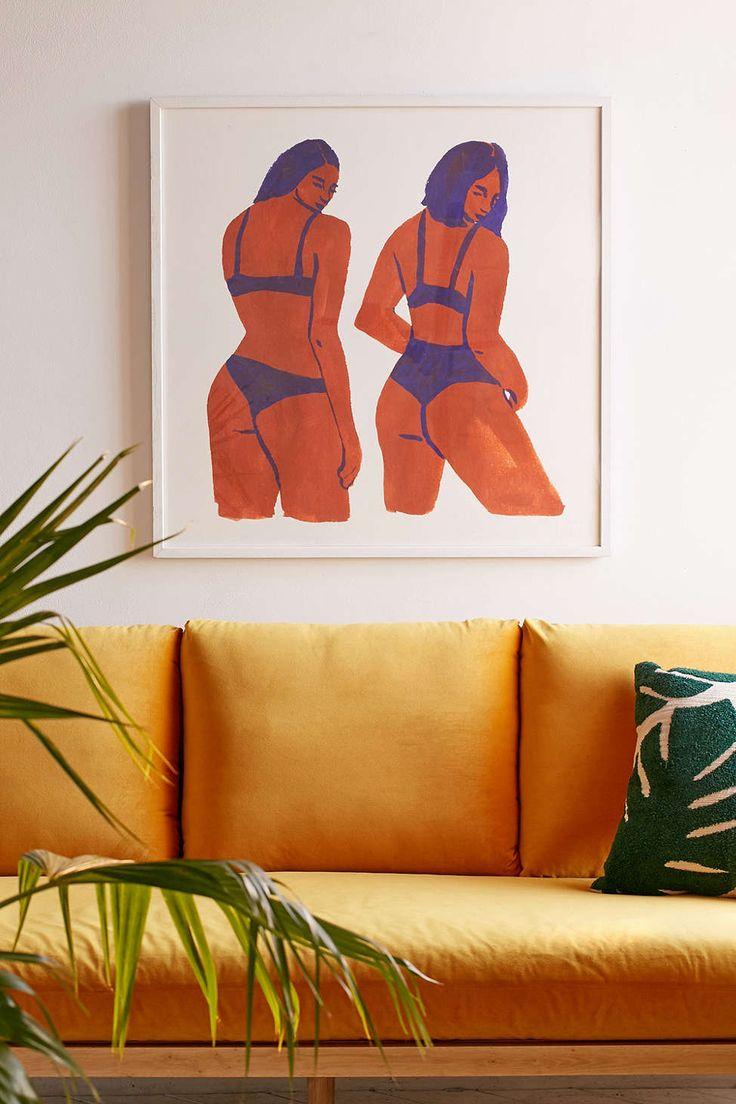 Leah Reena Goren Bikini Girls Art Print