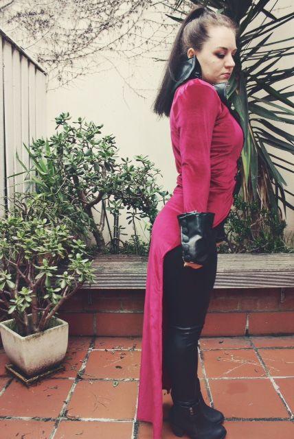 Evil Queen Coat @thegirlbackstage